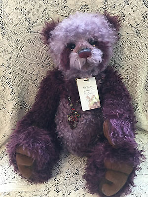 Charlie Bears MR. TOOTS 2013 Isabelle Mohair Collection FREE US SHIP
