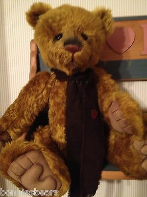Charlie Bears JONAH 2012 Isabelle Mohair Collection FREE US SHIP