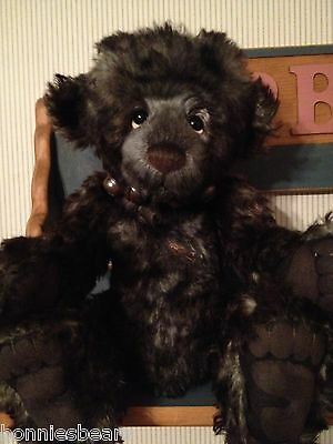 Charlie Bears SHERLOCK 2012 Isabelle Mohair Collection FREE US SHIP