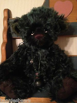Charlie Bears DOOLITTLE 2012 Isabelle Mohair Collection FREE US SHIP