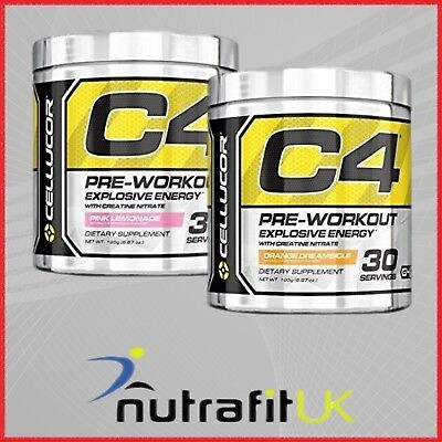 CELLUCOR C4 PRE-WORKOUT 195g EXPLOSIVE ENERGY 30 SERVINGS