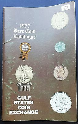 1977 Rare Coin Catalogue, Gulf States Coin Exchange, Revised 6th Edition