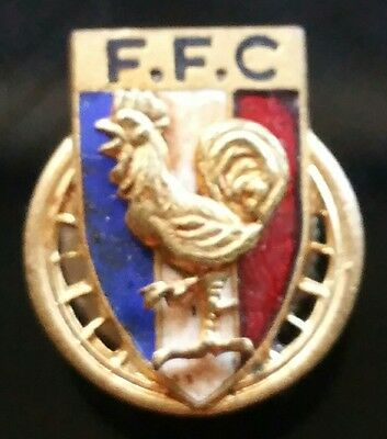 F.f.c. France Rooster Coq Pin - D51