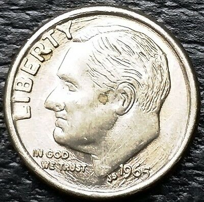 Vintage Novelty Miniature 1965 Roosevelt Dime 10 Cents Coin - Free Combined S/H