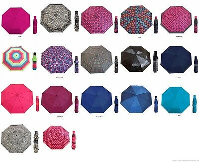 NWT Asst Misty Harbor Folding Umbrellas - Great Colors and Patterns