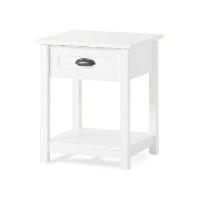 Child Craft Abbott Ready-to-Assemble Night Stand - Matte White