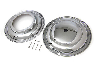 Harley Panhead 1941 Thru 1948 Chrome Front 16 Inch Wheel Chrome Covers