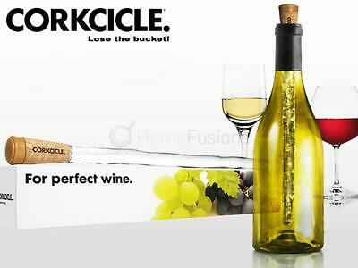 Corkcicle Wine Chiller Wine Bottle Cooler Rod 45 Min Cooling Ice Cork Stopper