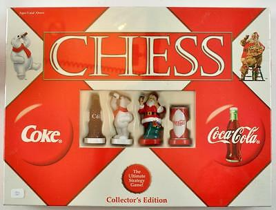 2002 Coca-Cola Christmas Chess Game Collector's Edition
