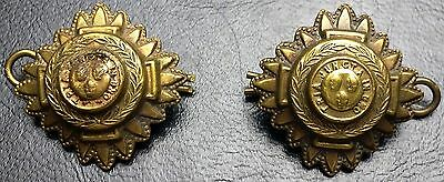 WWII Order Of Bath Shoulder Or Cap Badges Pip Tria Juncta In Uno England 1940's