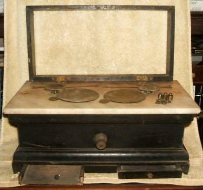 Antique Whitall & Tatum Co. Apothecary Scale