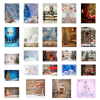 3x5FT Christmas Tree Photography Backdrop 5x7ft Photo Studio Props Background