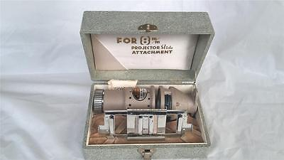 CINEKON KOKI K K SLIDE ATTATCHMENT FOR 8mm PROJECTOR BOXED IN EXC COND FREEPOST