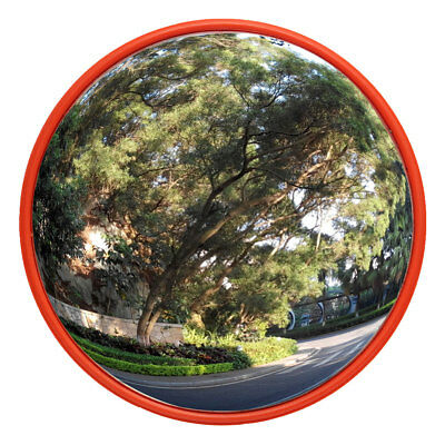 "24""  Wide Angle Security Curved Convex Road Mirror Traffic Driveway Safety"