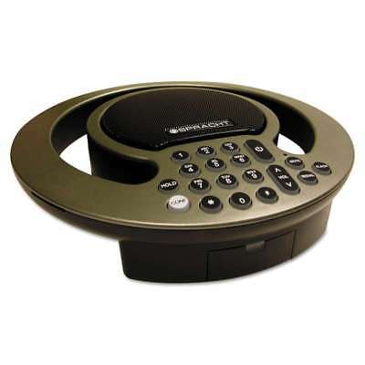 Spracht Aura SoHo Conference Phone, 3 Built-In Microphones, Silve 800807300224