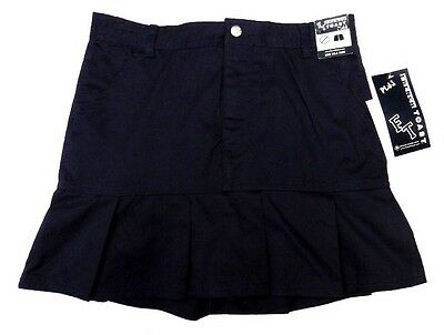 Scooter Skirt Navy Blue 10 1/2 French Toast Girls School Uniform Pleated Hem New