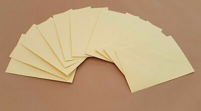 Cream Envelopes Gummed 133mm x 197mm Envelope Letter Wallet Office Stationary