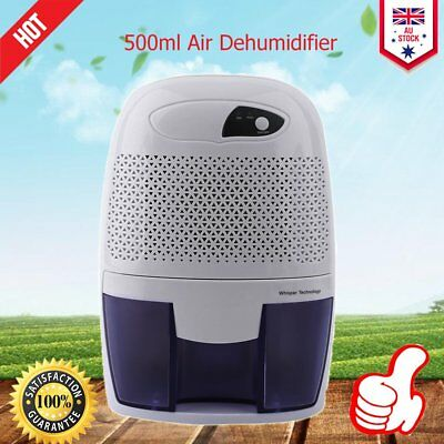 Mini 500ml Electric Dehumidifier Air Dryer Home Mould Drying Moisture Absorber X