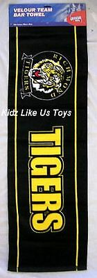 ~ Richmond Tigers - VELOUR TEAM BAR PUB BEER DRINK TOWEL / RUNNER