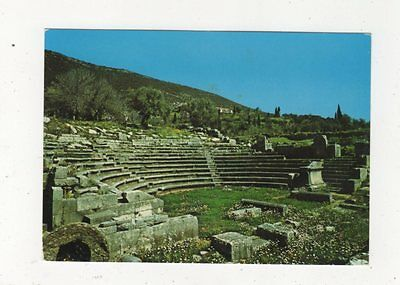 Theater Messinis Greece Postcard 765a
