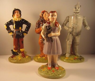 Fantastic Limited Edition The Wizard of Oz Set 4 figures Royal Doulton Pottery