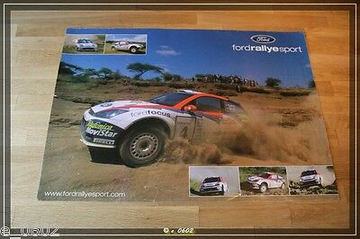 Poster von Colin McRae / Nicky Grist Real Autograph, no Fake !!