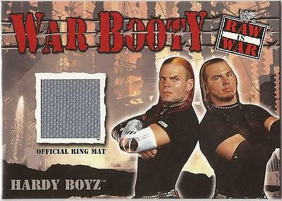 "WWF Raw is War - War Booty ""Hardy Boyz"" Event Used Card"