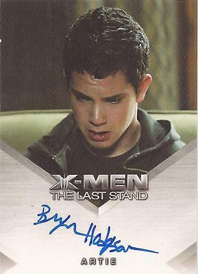 "X-Men 3, The Last Stand - Bryce Hodgson as ""Artie"" Auto/Autograph Card"