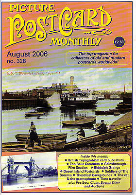 Picture Postcard Monthly - Issue 328 - August 2006