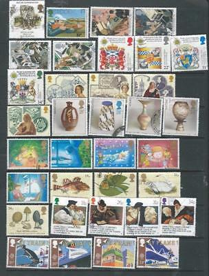 Great Britain Lot 2 nice used Decimal commemorative stamps with sets [9143]