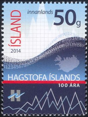 Iceland 2014 Statistical Office 100th/Statistics/Graph/Chart/Census 1v (is1021)