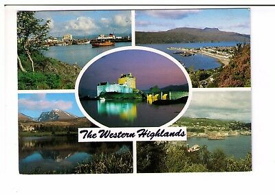 Postcard: Multiview - The Western Highlands, Scotland