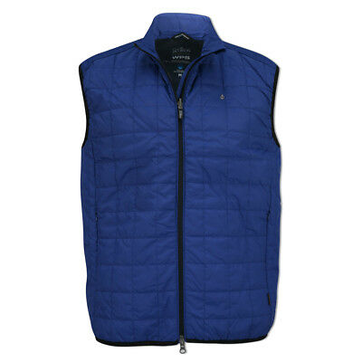 Oscar Jacobson WPS Lightweight Vest with PrimaLoft® in Electric Blue