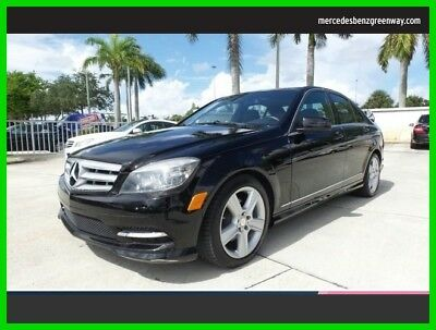 2011 Mercedes-Benz C-Class C 300 Luxury 2011 C 300 Luxury Used 3L V6 24V Automatic Rear Wheel Drive Sedan Premium