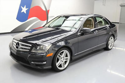 2013 Mercedes-Benz C-Class  2013 MERCEDES-BENZ C250 SPORT TURBO SEDAN SUNROOF 67K #294357 Texas Direct Auto