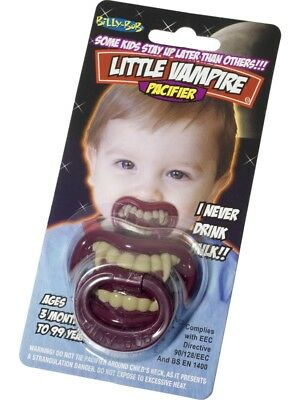 Babies Little Vampire Dummy Halloween Dummy Fancy Dress - 01-31803
