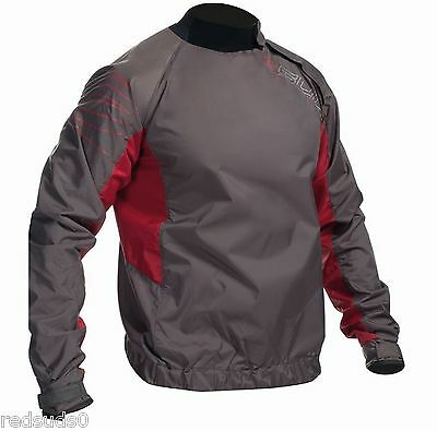 Gul 2018 Shore Untaped Spray Jacket Waterproof Top Canoe Kayak Sail Grey