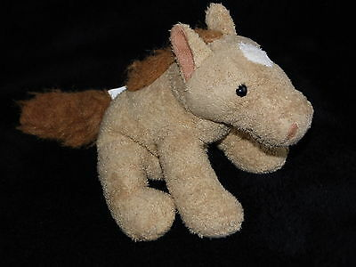 Chad Valley Brown Horse Pony Soft Toy Beanie Comforter