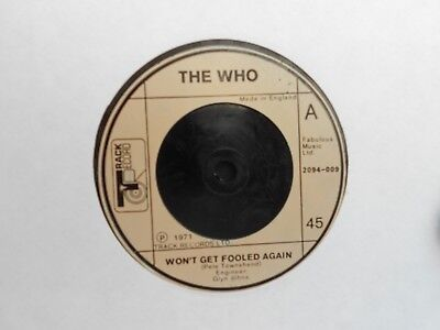 The Who=Won't Get Fooled Again  Ex