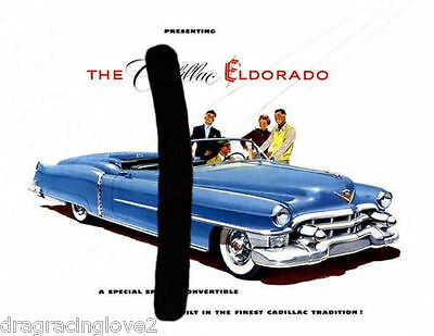 1953 Cadillac Classic American Car Vintage Magazine/Print Ad 8x10 PHOTO! COPY