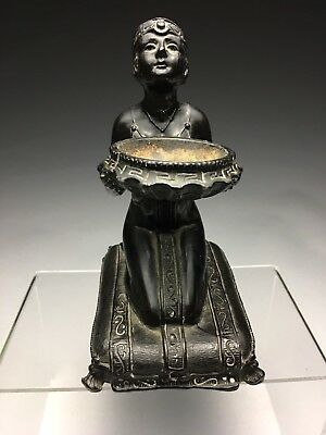 L.V. Aronson Art Deco Egyptian Girl Incense Burner 1923