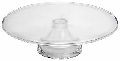 Large Cake Stand 34cm Classic Clear Acrylic Cake Stand Cake Plate Cupcake Stand