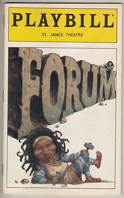 "Whoopi Goldberg   ""Forum""  1997 Playbill Stephen Sondheim"