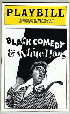"Kate Mulgrew Playbill ""White Liars & Black Comedy"" 1993"