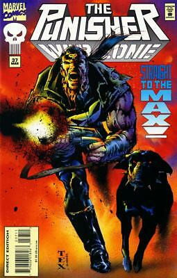 The Punisher War Zone #37, NM 9.4, 1st Print, 1995, Unlimited Shipping Same Cost