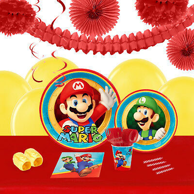 Super Mario Party 16 Guest Tableware Deco Kit