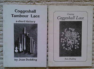 2  x Coggeshall Lace books by Duddling craft