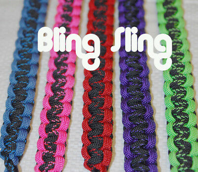 X Weave Custom Bling Sling, Choose your colors, Free Ship within 24 hours