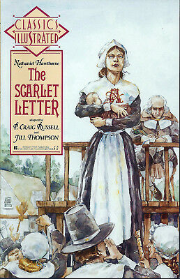 CLASSICS ILLUSTRATED #6  Mar 1990  THE SCARLET LETTER   First Comics