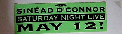 See Sinéad O'Connor Saturday Night Live May 12 90's Sticker SINEAD O'CONNOR 15x5